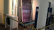 testování solárního panelu