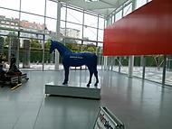 modrý kůň