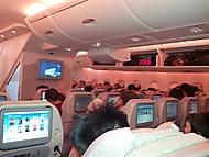 Airbus A380 z pohledu pasažéra
