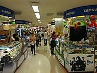 Bangkok - MBK - patro s mobilními telefony