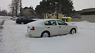 Octavia II a aerodynamika podle sněhu