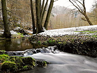 Potok v Moravském krasu
