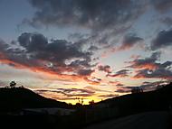 Západ slunce bez úprav