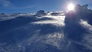 zima a sníh