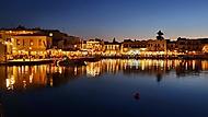 Noční Rethymno - Kréta