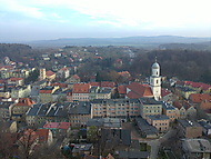 Městečko Bolków - Polsko