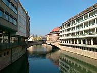 vodní zákoutí Norimberka