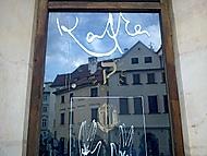 Podpis Franze Kafky na Starém městě