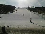 Osamělý lyžař...konec sezony