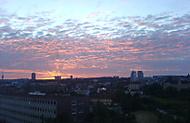 další západ slunce ze strašnic