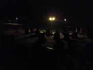 hřbitov ve tmě