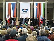 Zahájení setkání prezidentů Visegrádské čtyřky
