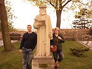 ja a moje zena u sochy:D