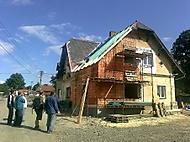 Měsíc po povodni...dům pana Listopada.