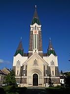 Husovický kostel Brno