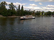 Loďky na Vltavě
