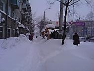 sněžení. yanvar.2011