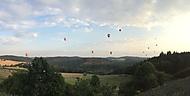 Balóny nad hradem Bouzov 2015