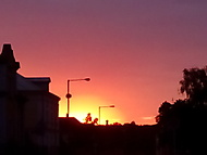 Venku-západ slunka :-)