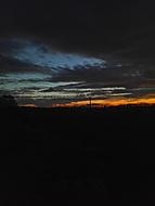 Šťedrovečerní západ slunce