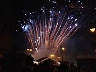 Ohňostroj na náměstí