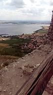 Dívčí hrad, pohled na Pavlov