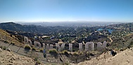 Panorama LA z Hollywood Hills