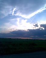 Nebe s mraky