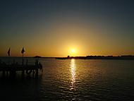 Ranní rozcvička při východu slunce
