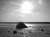 Klid na solném jezeře
