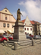 Jan Žižka na Žižkově náměstí