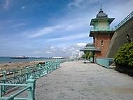 promenáda v Brightonu
