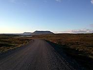 půlnoční Island