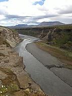 kaňon řeky Jökulsá, Island
