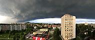 Bouře nad Českou Lípou