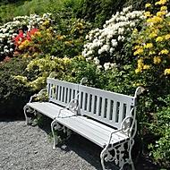 Kvetinová záhrada u Petřína Praha