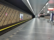 Nádraží Holešovice - metro