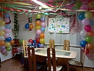 příprava na narozeniny