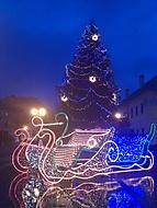Vianoce 2011 - námestie Svätý Jur