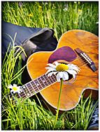 Sám v tráve
