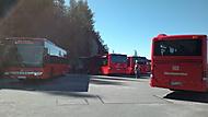 Tyhle autobusy jezdí až uplně nahoru :)