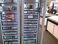 skříň pro ovládání linky 2