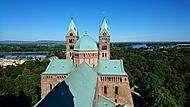 Dóm ve Speyeru - vyhlídka z jihozápadní věže
