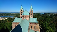 Dóm ve Speyeru - vyhlídka z jihozápadní věže (Petr_78) – Sony Xperia Z5 Compact