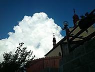 Našlehaný mrak