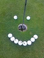 Golf Smile :-)