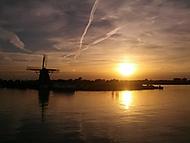 Holandská krajina.