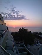 Takhle nás vítalo sluníčko každý den :-)