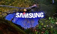 Jezírko ze Samsungem